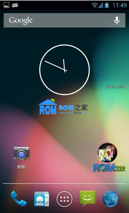 三星 Galaxy S(i9000) 基于AOSP JellyBean Android 4.2ROM 优化截图