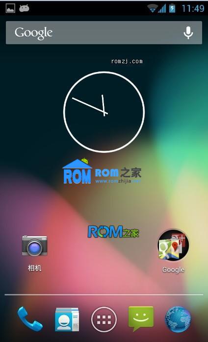三星 Captivate(i897) ROM 基于AOSP Andriod 4.2.1 JellyBean 4.2 预览版截图