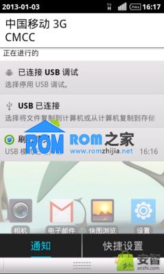 中兴U880 刷机包 纯正官方ROM 已root 精简 美化 急速 稳定截图
