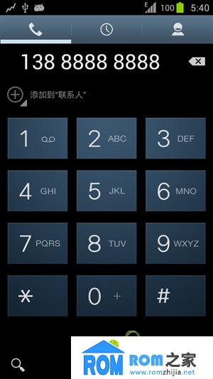 HTC One X S720e 刷机包 状态顶栏透明 三星风格 精简 优化截图