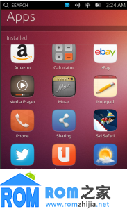 Google Nexus 10 刷机包 Ubuntu Phone OS 卡刷包 官方预览版截图