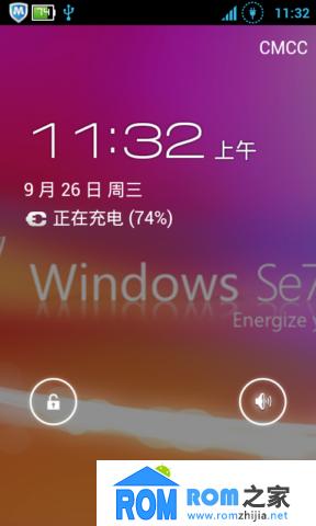 HTC G7 刷机包 高仿ICS WIN7壁纸 震撼的视觉冲击 值得体验 极速版截图