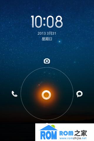 HTC G13 刷机包 sense3.5 小米桌面 1%电量 精简 美化版截图