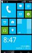 中兴U790刷机包 WP8桌面风格 精简 优化 美化版
