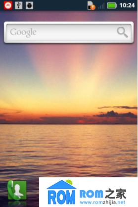 三星S5830刷机包 锁屏农历 炫酷状态栏 蓝染风格 Blur UI体验版截图