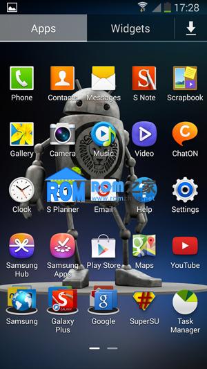 三星N9005刷机包 基于Android 4.3的固件XXUBMI7 Omega v1.0截图
