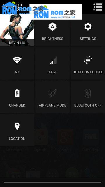 HTC One 801e(国际版)刷机包 Android4.4 KitKat 首个CyanogenMod 11测试版截图