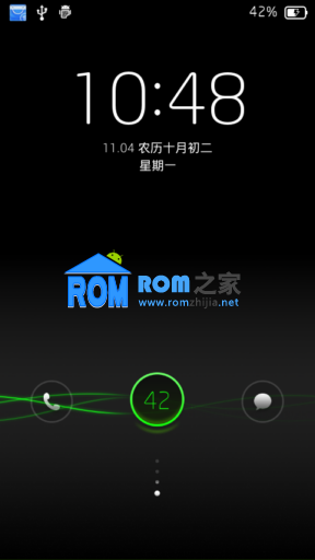 夏新N821刷机包 乐蛙ROM第103期 新增通知类短信归类功能 优化桌面截图
