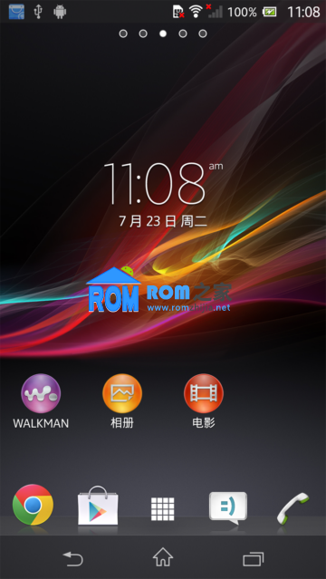 【新蜂】索尼L36H刷机包 官方 精简 稳定 省电 V1 Android4.2.2截图