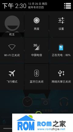 华为C8813刷机包 基于自编译CyanogenMOD10.1 移植适配mokee_4.2.2ROM截图