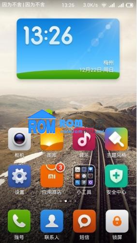 红米手机刷机包(移动) 开发版 第169周 自定义营运商 JNJ 3.12.27 优化省电截图
